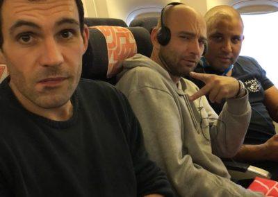 Déjà dans l'avion